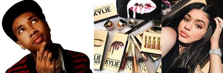 Tyga named many of Kylie Jenners Makeup kits