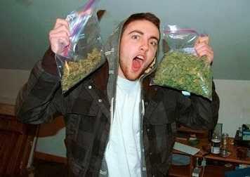 Mac Miller sold drugs in school