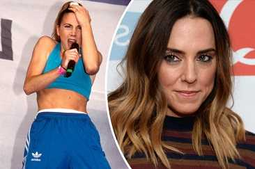 Spice Girl Mel C suffered from depression