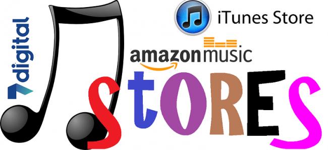 best digital music stores