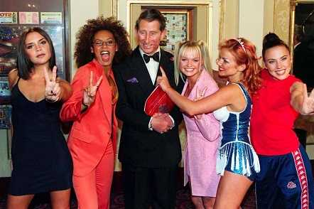 Prince Charles and Nelson Mandela are fans of Spice Girls