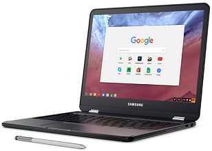 top 10 laptops of 2017 - samsung chromebook pro