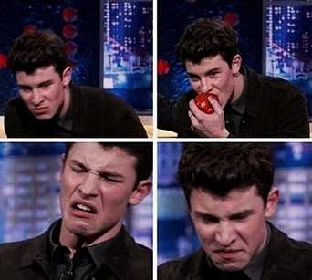 Shawn Mendes hates tomatoe