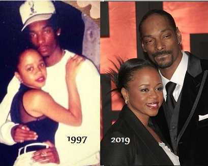 Snoop Dogg with Shante Broadus
