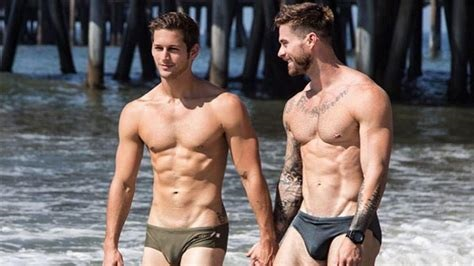 Sexy gay couple Steve Grand and Max Emerson