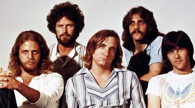 Early 80s pic of The Eagles