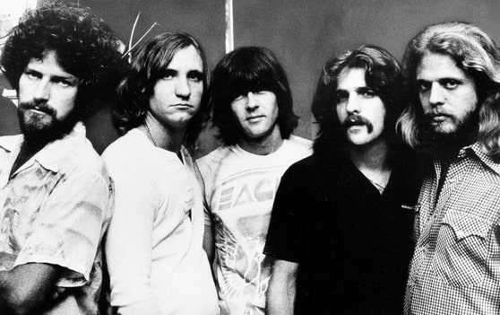70s pic of The Eagles
