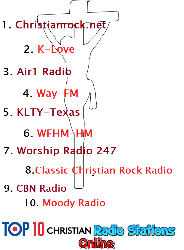 Top 10 christian radio stations online