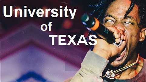 Travis Scott is from University of Texas