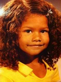 Childhood pics of Zendaya Coleman